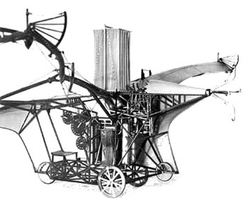 The patented flying machine an impossible dream