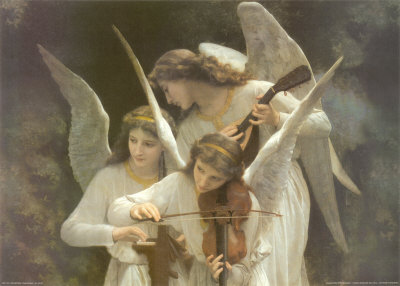Bouguereau - Angels Play Violins