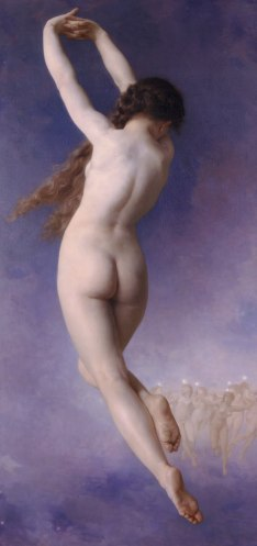 lost pleiad 1884 by Bouguereau